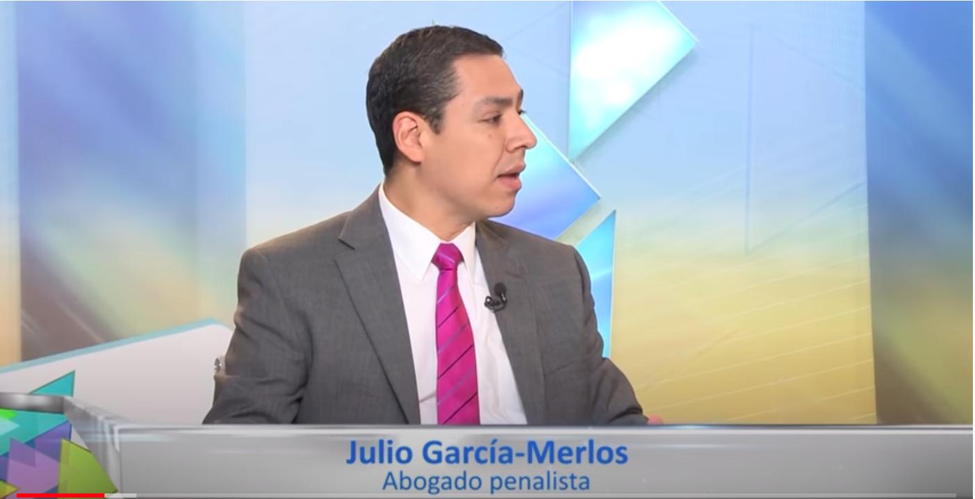 Julio García-Merlos sobre los problemas del proceso penal en Dimensión TV